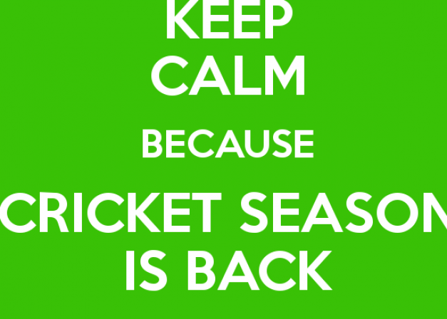 Cricket is back