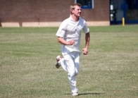 Bowlsey in full flow fielding