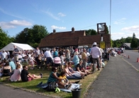Beer festival in full swing
